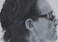 "Bono ""U2″ Painting"