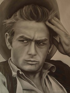 james-dean-painting