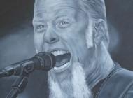 James Hetfield Metallica Painting