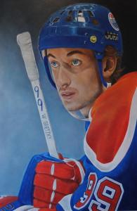 2 'Gretzky'-51x76cm-acrylic-