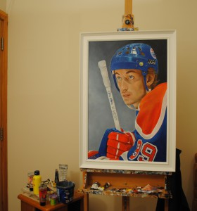 'gretzky' framed